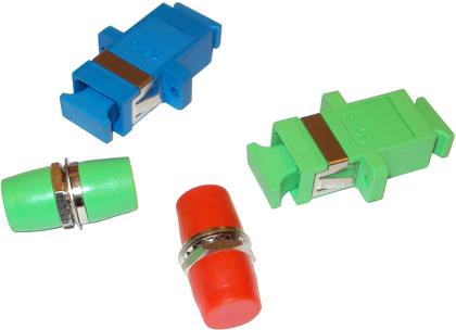 Оптические розетки адаптеры SC FC ST LC SM MM Simplex Duplex