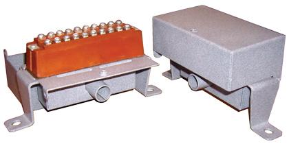 Коробка распределительная телефонная КРТМ-10 с металлическим корпусом