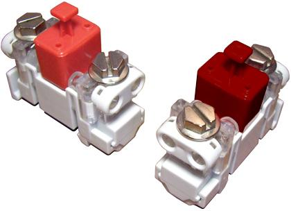 Однопарный модуль абонентского ввода EWIG DWM-PV (PVC) защиты по напряжению и по току