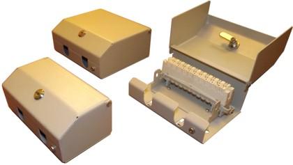 Коробка распределительная КРТМ КРТО 10, 20, 30 с врезным плинтом