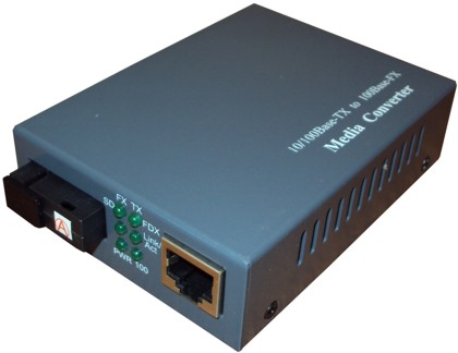 Оптические медиаконвертеры Single Fiber MCS Fast Ethernet