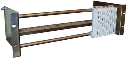 Модуль подключения МП-3U, 4U 19 дюймов с органайзером