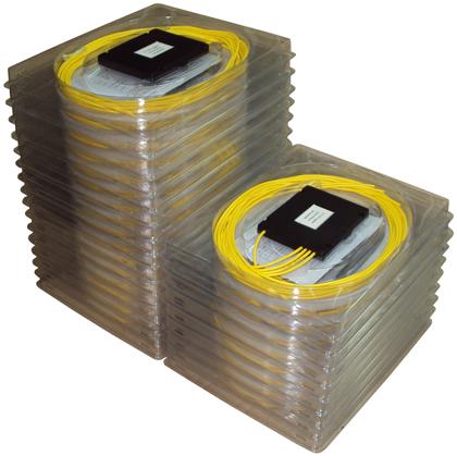 Оптические разветвители ОР делители, сплиттеры 1х2, 1х4, 1х8, 1х16, 1х32, 1х48 SC/FC/ST/LC APC/UPC