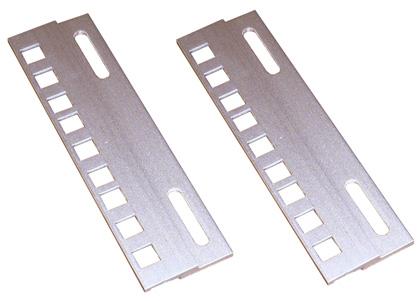 Планки переходные с 21 дюйма (535 мм) на 19 дюймов (482,6 мм) 3U, 6U