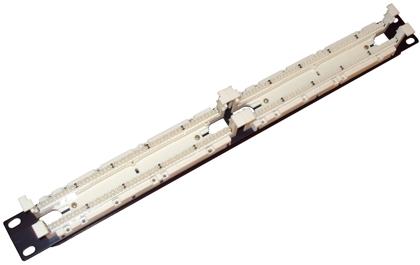 Патч-панель (кросс) EWIG 110 типа 1U, 2U на 50, 100, 200 пар