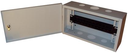 Шкаф антивандальный настенный ШАН IP TV патч панель 10 дюймов