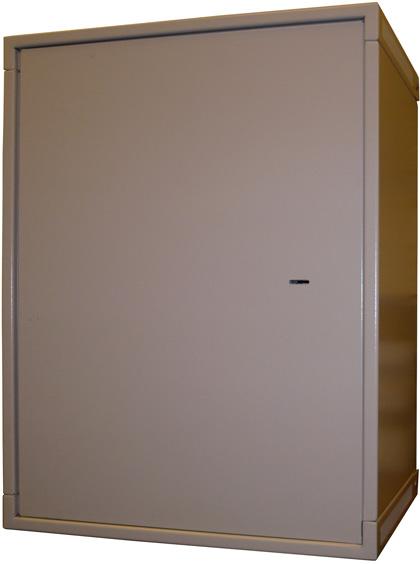 Шкаф антивандальный настенный ШТКН-А 19 дюймовый