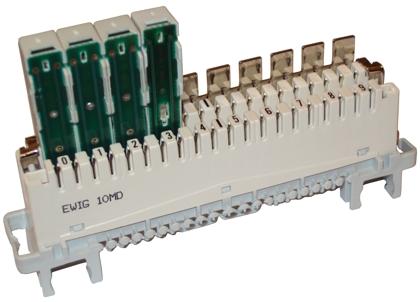 Модуль комплексной защиты для плинта